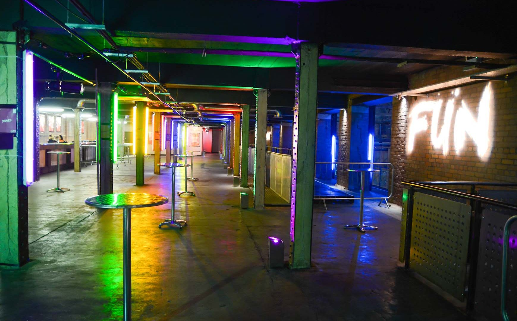 Hire Private Party Venues Manchester Birthday Party